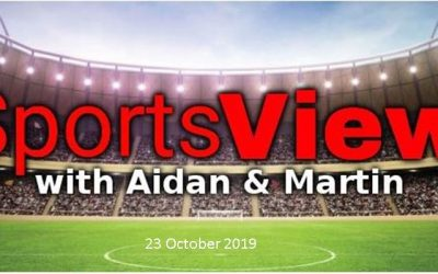 Sportsview on ROS FM 23 October