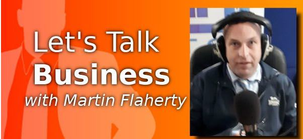 Aidan Rafferty on Let's Talk Business ROS FM