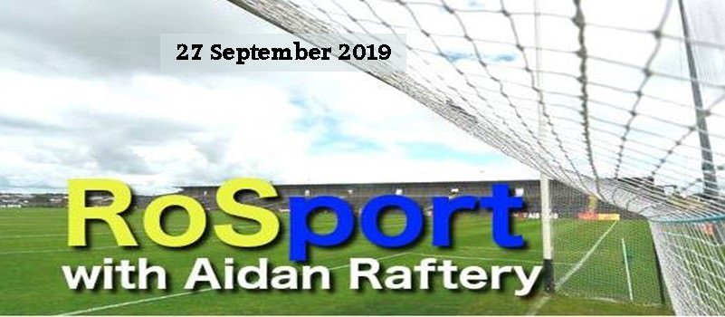 Roscommon Sport on Rosport 27 September 2019