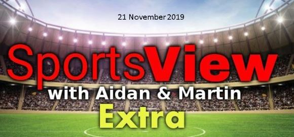 Sportsview Extra 21 November on ROS FM
