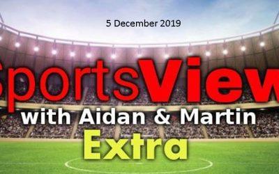 SportsView Extra ROS FM 5 December