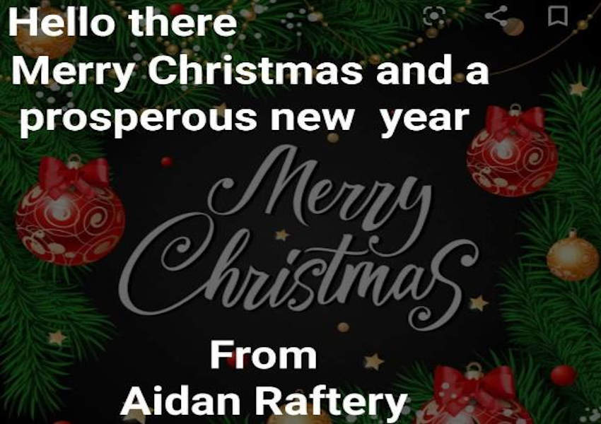 Christmas Greetings from AR Sports Therapy Clinic