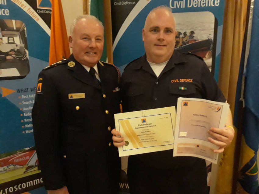 Roscommon Civil Defence cert