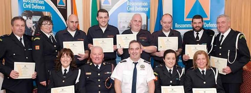 Roscommon Civil Defence-ceremony