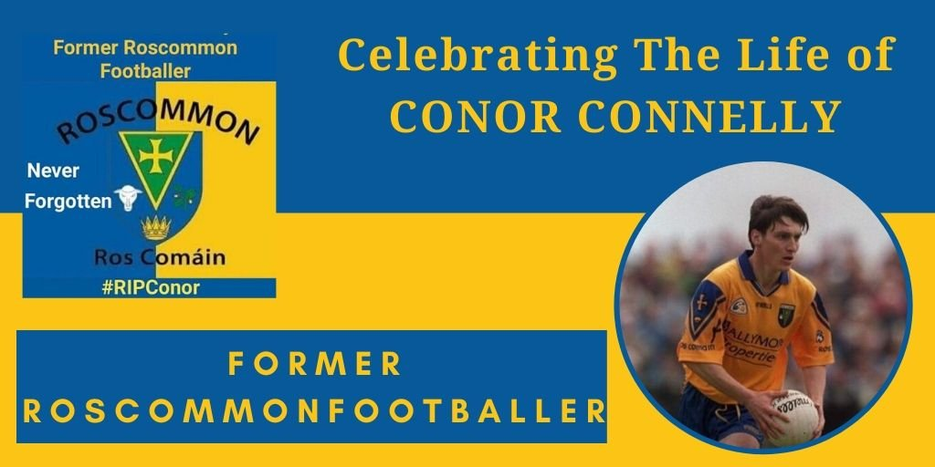 tribute to conor connelly roscommon footballer