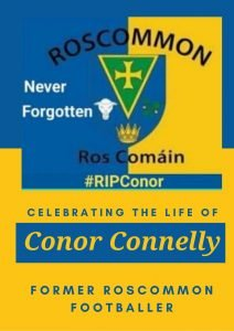 Roscommon footballer conor connelly